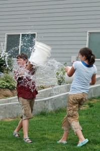 SO much more effective than a water gun. . .