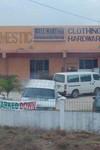 WalMart in Belize